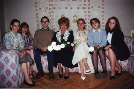 Молотобарова О.С. и её ученики